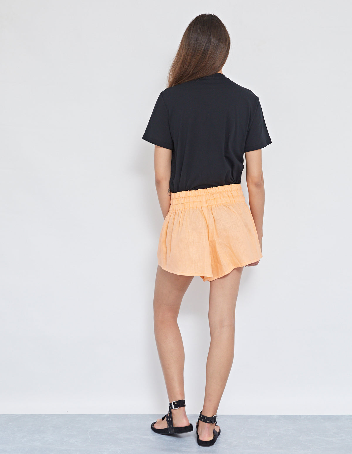 SEVEN PALMS SHORT | ORANGE