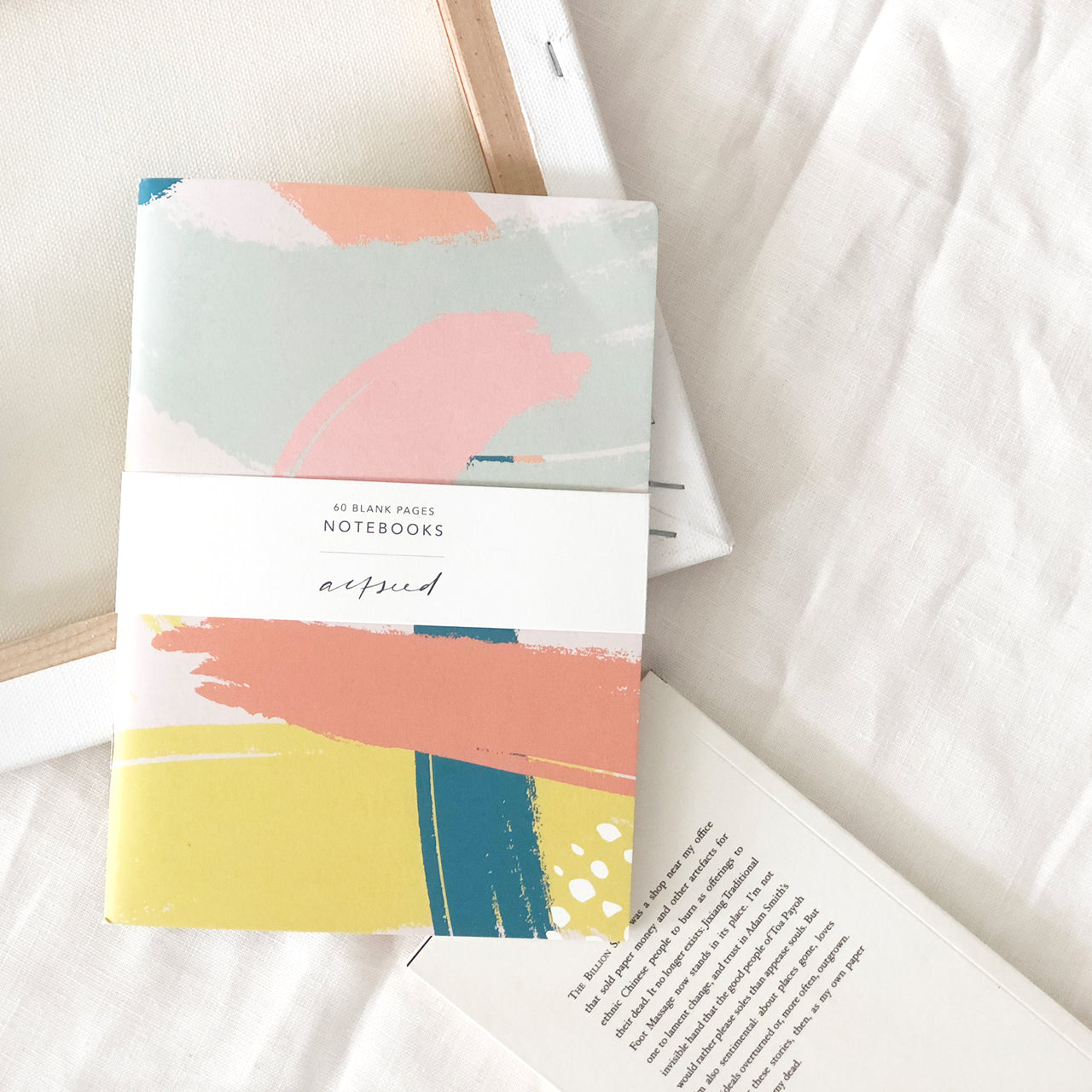 Brush Strokes Notebook