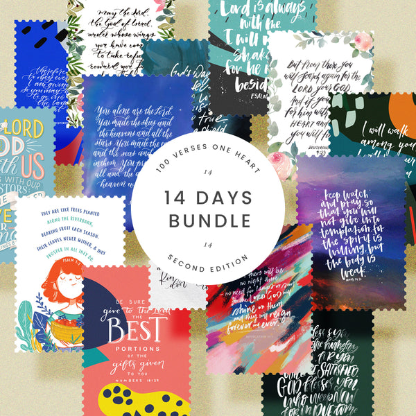 14 Days Bundle of 100 Verses One Heart - 2nd Edition