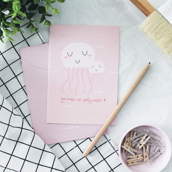 Jelly Love Greeting Card