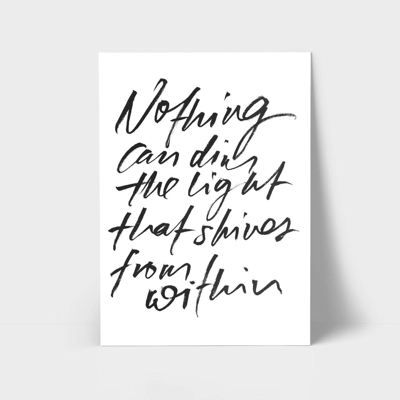 Light from Within Print