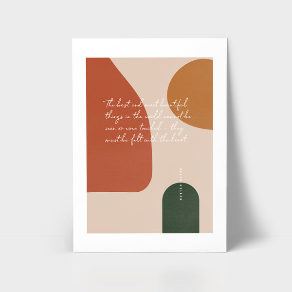 Love Series Print - The best and most