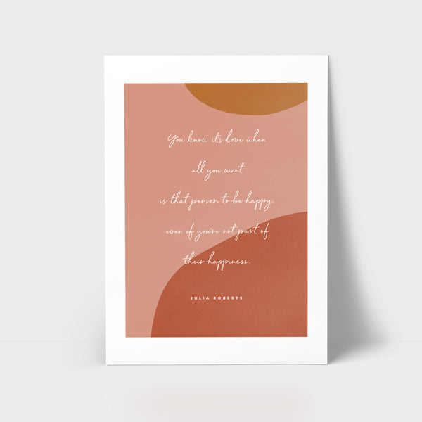 Love Series Print - It's love