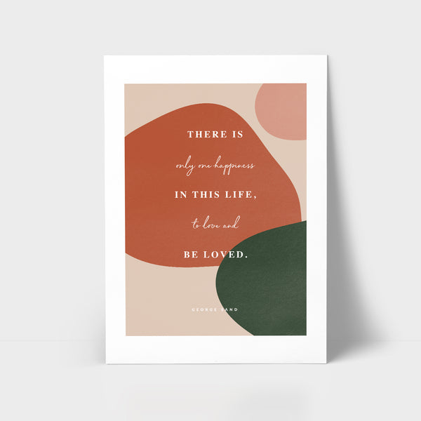 Love Series Print - Be loved