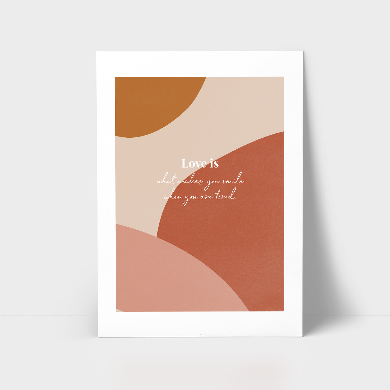 Love Series Print - Love Is...