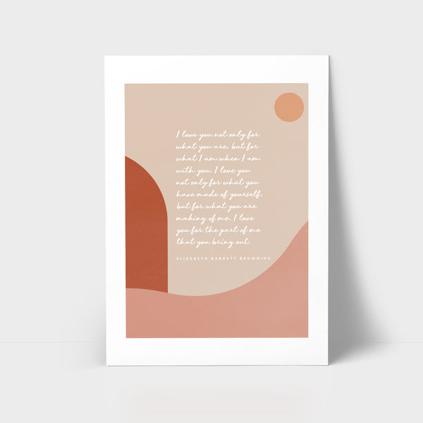 Love Series Print - I love you