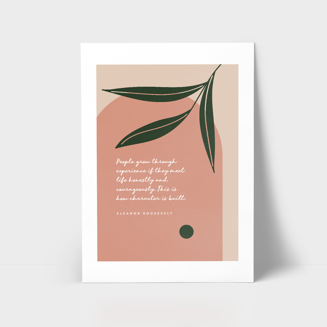 Love Series Print - People Grow