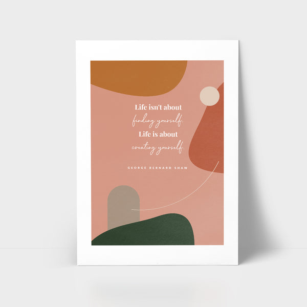 Love Series Print - Life is about
