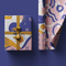 Purple Geometric Wrapping Paper Roll, 50x70cm