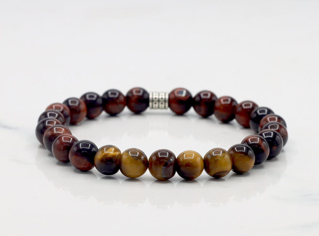 Golden & Red Tiger Eye Bracelet