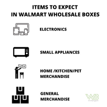 Load image into Gallery viewer, Premium Walmart Returns Wholesale Box