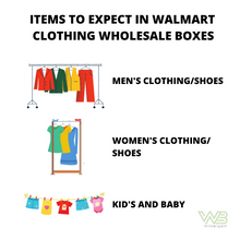 Load image into Gallery viewer, Walmart Clothing Wholesale Box 15 for $35