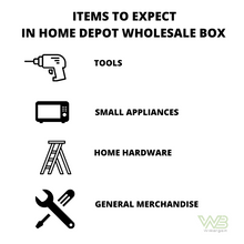 Load image into Gallery viewer, Premium Home Depot Returns Wholesale Box