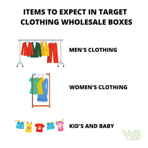 Target Clothing Wholesale Box 12 for $35