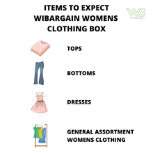 Load image into Gallery viewer, WiBargain Women's Clothing Wholesale Box