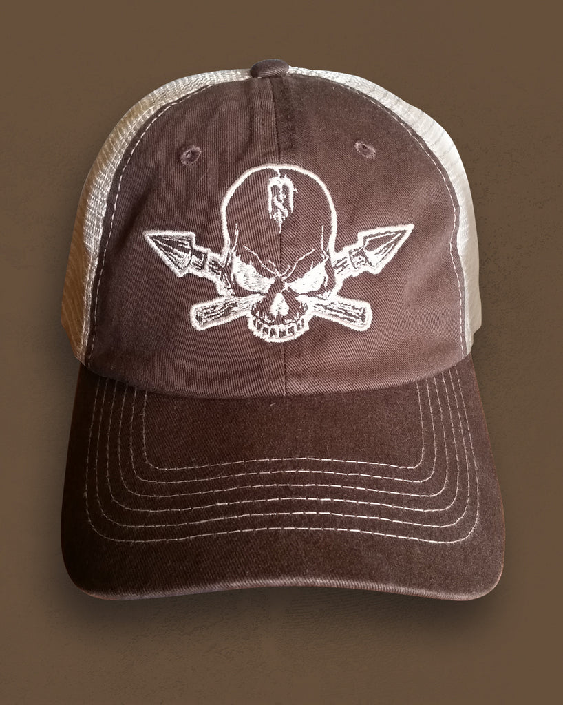 Skull & Spears Trucker Cap