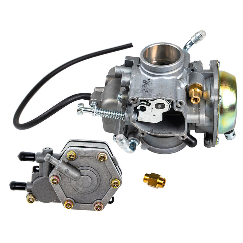 Carburetor and Fuel Pump Kit for zOTHER Polaris Xplorer Worker Trail-Boss Trail-Blazer NICHE MK1001132