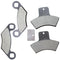 Brake Pad Sets for Polaris Xplorer Xpedition Worker Trail-Boss 2202412 2200465 2202411 NICHE MK1001316