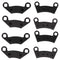 Brake Pad Sets for Polaris RZR 2202412 2200465 2203318 2200901 2201149 2203452 2203792 NICHE MK1001322