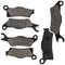 Brake Pad Set for Can-Am BRP Outlander 705601015 705601014 715900248 NICHE MK1001540