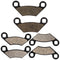 Brake Pad Set for Polaris Sportsman 2202412 2200465 2203628 2204088 2200901 2205606 NICHE MK1001548