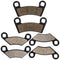 Brake Pad Set for Polaris RZR Outlaw 2202412 2200465 2203318 2200901 2201149 2203452 NICHE MK1001549