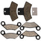 Brake Pad Set for Polaris Xplorer Xpedition Worker Trail-Boss 2202412 2200465 2202411 NICHE MK1001550