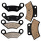 Brake Pad Set for Polaris Ferris Xplorer Xpedition Worker Trail-Boss 2202412 2200465 NICHE MK1001552