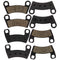 Brake Pad Set for Polaris RZR 2203318 2206025 1911197 1911085 NICHE MK1001557
