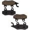 Brake Pad Set for Yamaha Suzuki Kawasaki Can-Am BRP YFZ450XSE YFZ450X YFZ450V YFZ450SP2 NICHE MK1001566