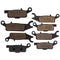 Brake Pad Set for Yamaha Grizzly 3B4-W0045-10-00 3B4-W0046-00-00 3B4-W0045-00-00 NICHE MK1001580