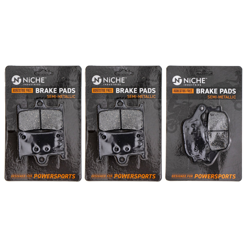 NICHE MK1099PAD Brake Pad Set for Yamaha YZF XSR900 XSR700 Tracer