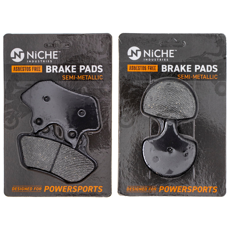 Brake Pad Set for Harley Davidson Softail Heritage 44082-00E 44063-83D NICHE MK1002525