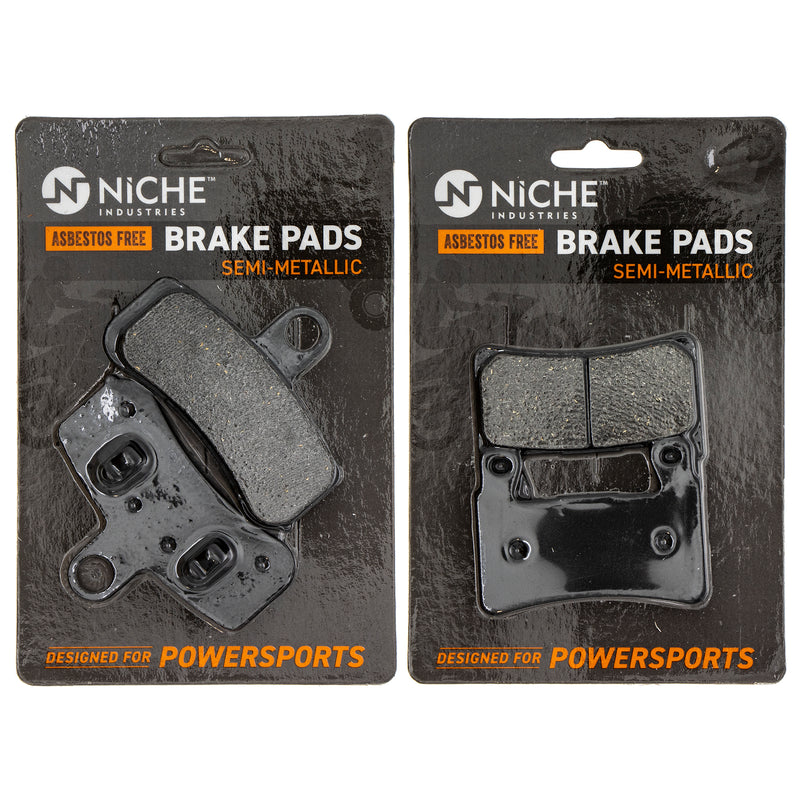 Brake Pad Set for Harley Davidson Softail Heritage Fatboy Breakout 42298-08 41300102 NICHE MK1002651