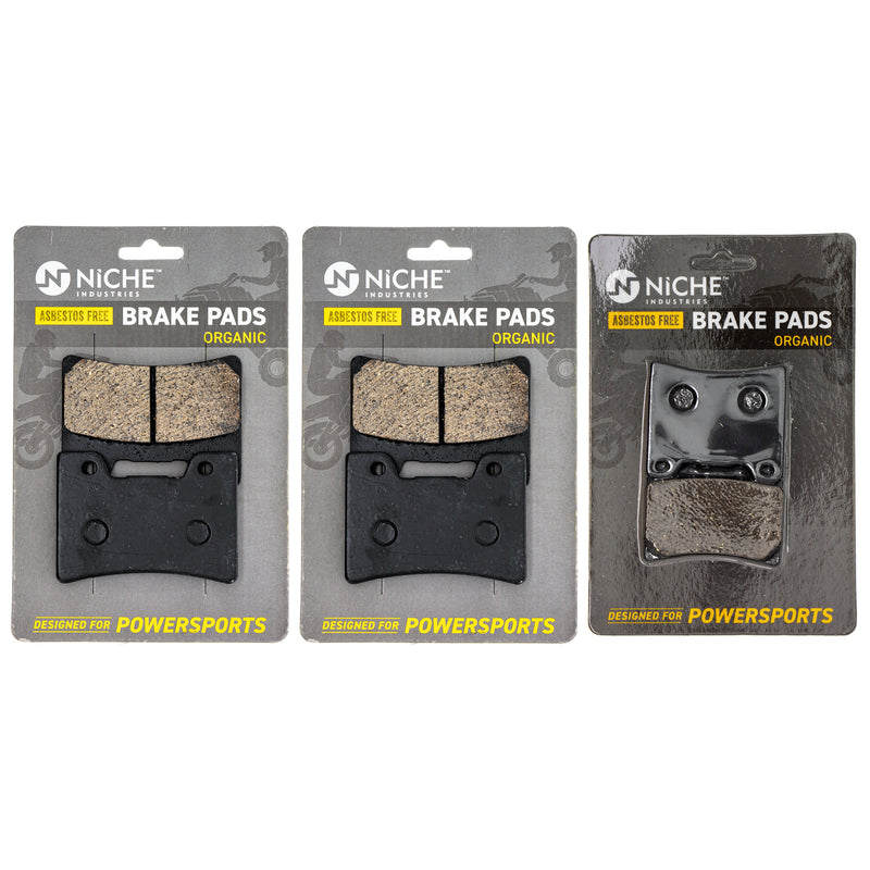 NICHE Brake Pad Set 3GM-W0045-03-00 1FK-W0046-01-00
