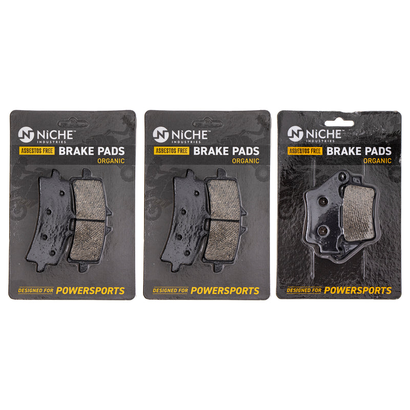 Brake Pad Set for BMW HP4 Daytona 34217722884 34118534234 NICHE MK1002683