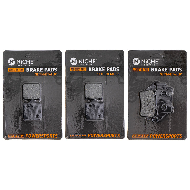 NICHE MK1201PAD Brake Pad Set for BMW S1000RR S1000R 34117714800
