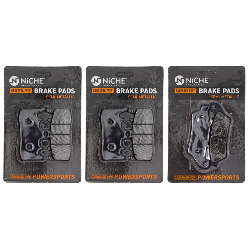 NICHE MK1211PAD Brake Pad Set for BMW S1000XR R1200RT R1200R