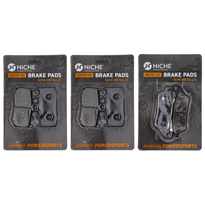 Brake Pad Set for BMW R900RT R1200ST R1200S R1200RT 34212335465 34117671780 34117660448 NICHE MK1002712