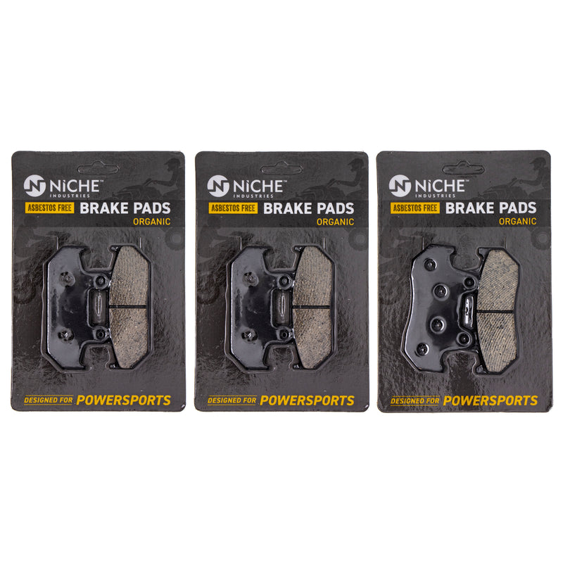 NICHE Brake Pad Set 06435-MT8-405 06455-MT8-405