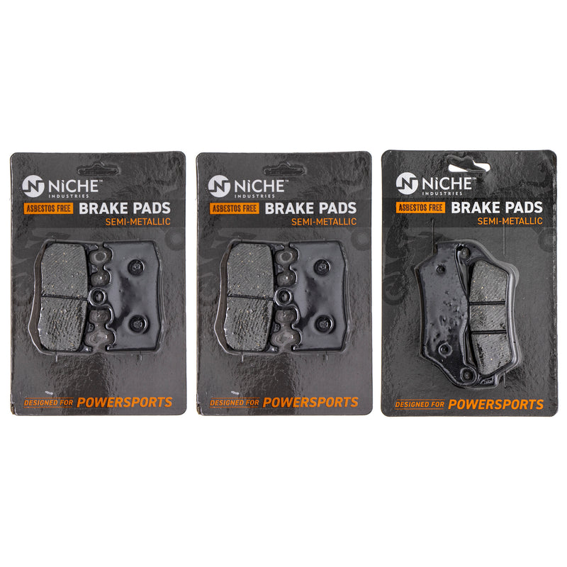 NICHE MK1226PAD Brake Pad Set for BMW 218964999 210772337