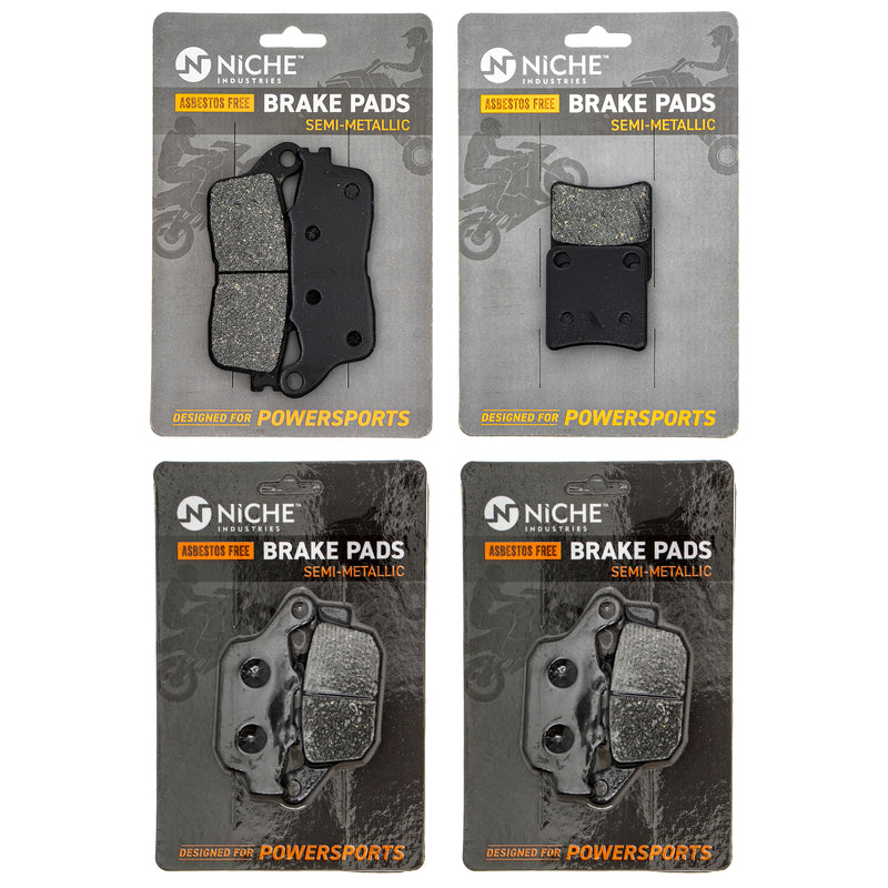 NICHE MK1284PAD Brake Pad Set for zOTHER Honda VFR1200FD
