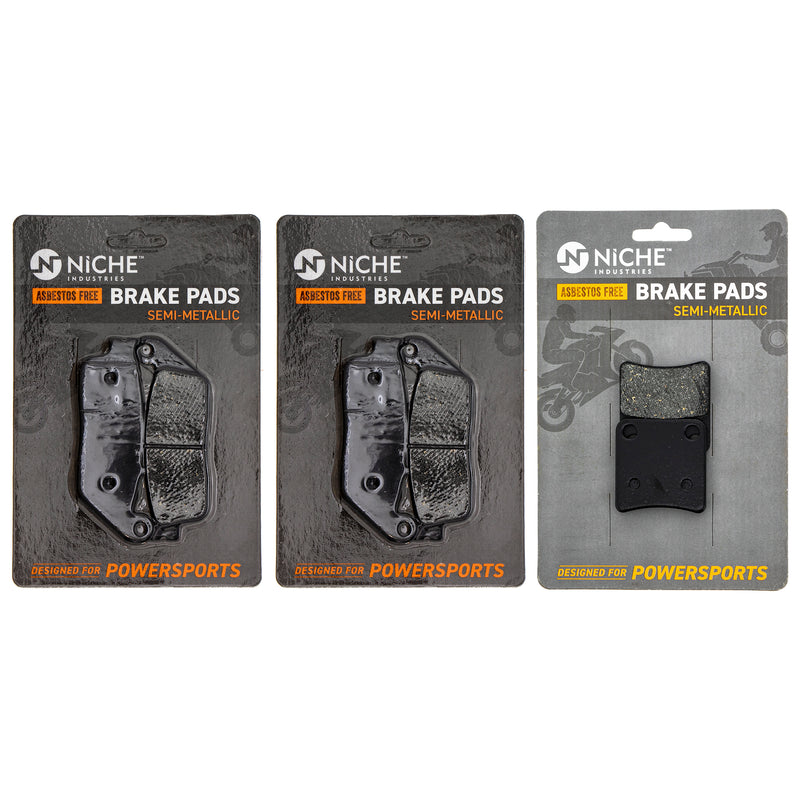 Brake Pad Set for zOTHER Honda Silver NM4 NC700XD NC700X 06435-MGS-D32 06436-MCT-016 NICHE MK1002867