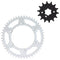 Drive Sprocket Kit for Kawasaki KX500 KX250 KLX650 KLX300R 13144-1005 42041-1448 NICHE MK1002980