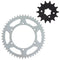 Drive Sprocket Kit for Kawasaki KX500 KX450F KX450 KX250F 42041-1104 13144-1005 42041-1384 NICHE MK1002983