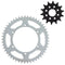 Drive Sprocket Kit for Kawasaki KX250 KLX300R 42041-1104 42041-1384 42041-1449 42041-1256 NICHE MK1002987