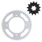 Drive Sprocket Kit for Yamaha Suzuki YZ85 YZ80 RM85 27511-20401 64511-20550 64511-03B00 NICHE MK1003108