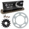 Drive Chain and Sprocket Kit for na Kawasaki KX250 42041-1104 13144-1005 42041-1384 NICHE MK1003584