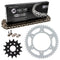 Drive Chain and Sprocket Kit for Yamaha na YZ400F YZ250 94561-62114-00 1WD-E7460-00-00 NICHE MK1003588