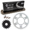 Drive Chain and Sprocket Kit for na Kawasaki Ninja 92057-0192 92057-0695 92057-0678 NICHE MK1003590